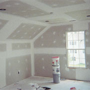 Attic Drywall Job