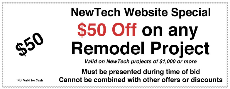 $50 off any remodel project coupon